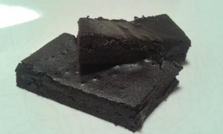 Fitt dupla csokis brownie 10 perc alatt