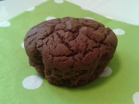 Liszt és cukormentes csokis muffin (full diétás)