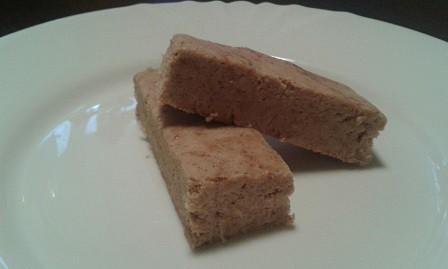 Almás pités protein szelet 10 perc alatt sütés nélkül