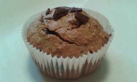 Fitt pirított kókuszos-csokis muffin