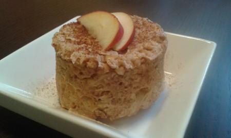 Fitt almás-fahéjas zabmuffin 3 perc alatt