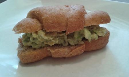 Fitt csicseriborsós-pestós szendvics