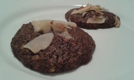 Mákos-csokis proteines keksz