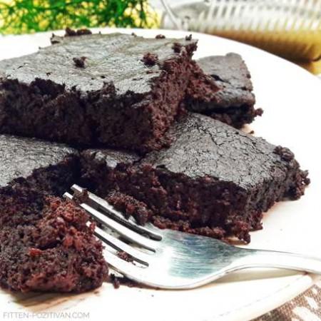 Liszt és cukormentes csokis brownie
