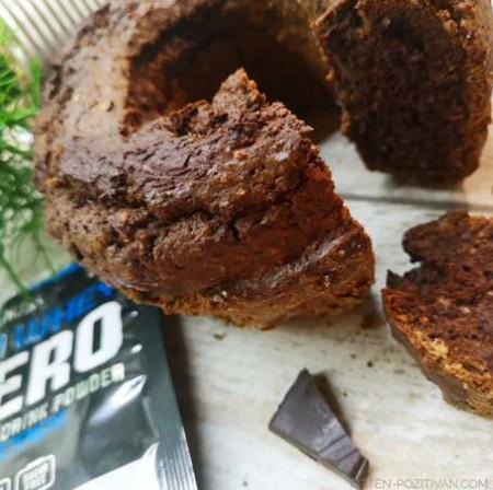 Cukormentes mogyorós csokis kuglóf