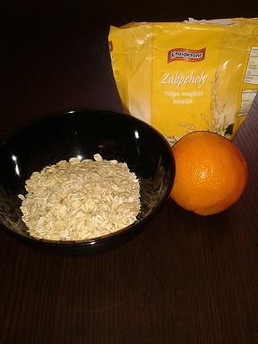 Narancsos zabkása