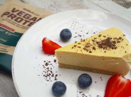 Proteines hozzáadott cukortól mentes sajttorta