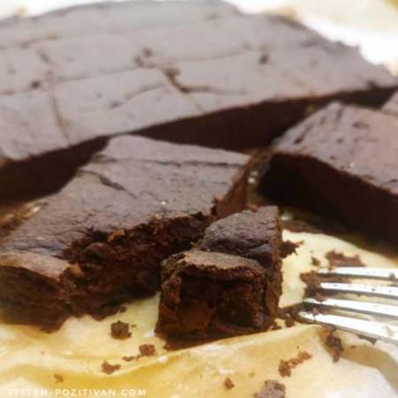 Sütőtökös, proteines brownie