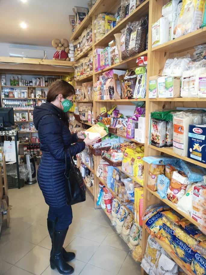 Egészséges bevásárlólista - A boltban