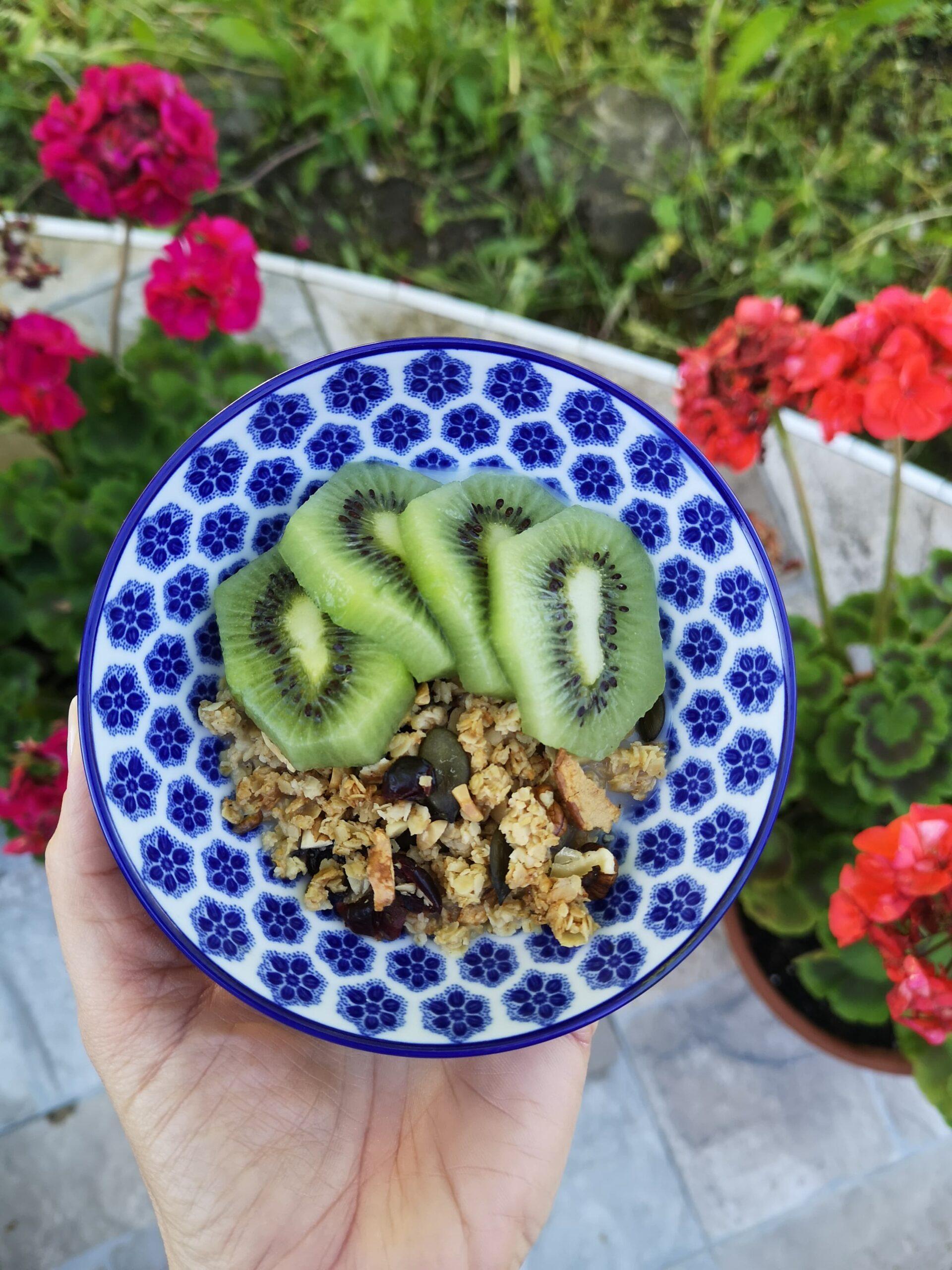 Egészséges házi granola