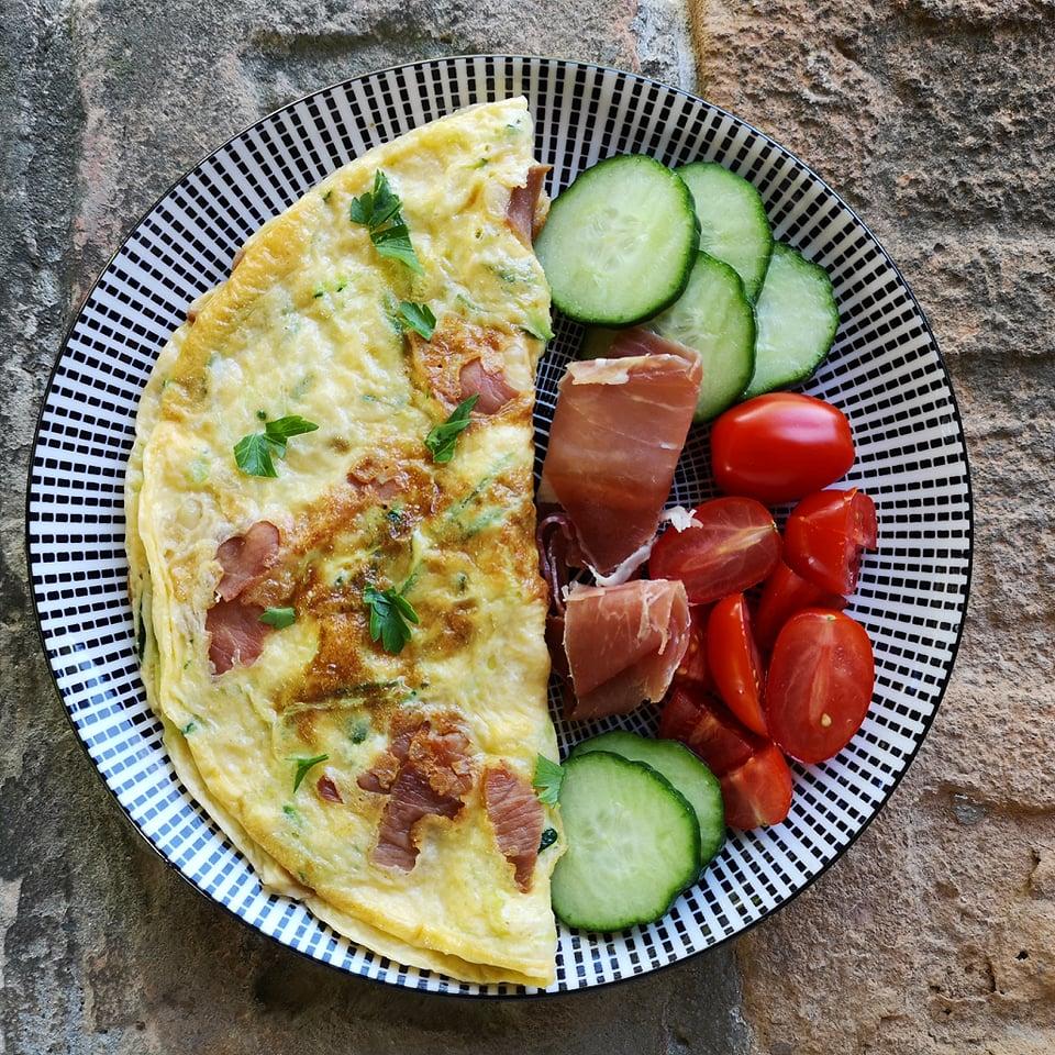 Rántotta reggeli