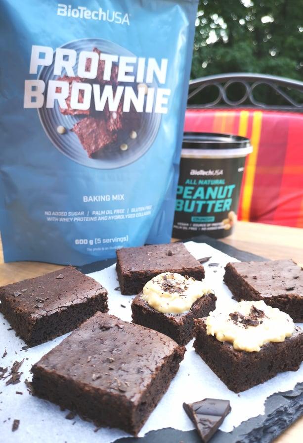 proteines brownie hozzávalók